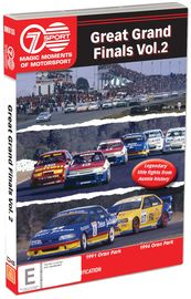 Magic Moments Of Motorsport: Great Grand Finals - Volume 2 on DVD image