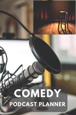 Comedy Podcast Planner by Gail Notebooks