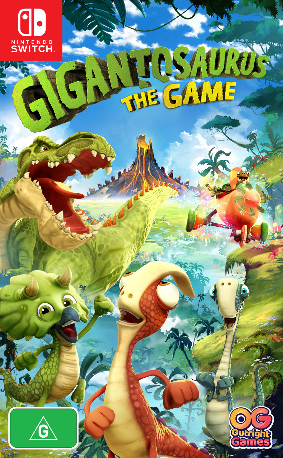 Gigantosaurus: The Game for Switch image