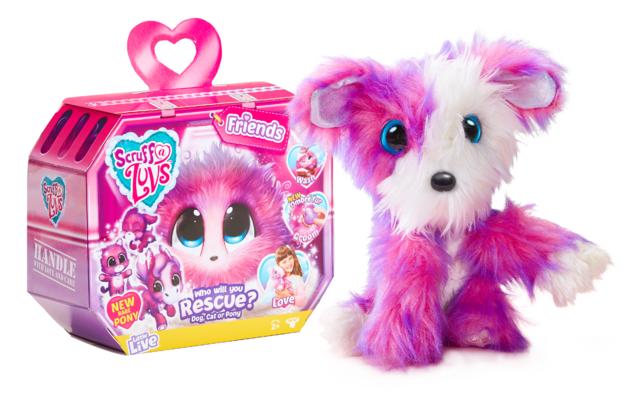 Scruff-a-Luvs: Surprise Plush S3 - Pink Ombre (Assorted Designs)