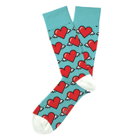 Two Left Feet: Love is in the Air Everyday Socks - Big image