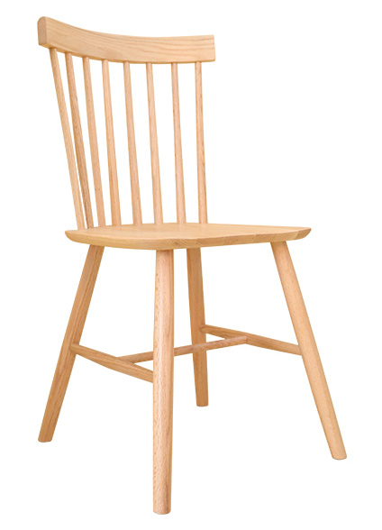 Windsor American Solid Oak Dining Chair - 2 Chairs