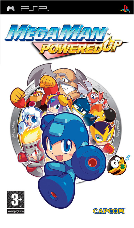 Mega Man Powered Up for PSP