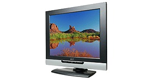 "Acer AT2001 20"" LCD TV 800x600 450cd/m2 500:1 16.7m 16ms Grey to Grey"