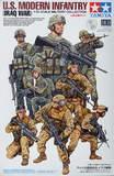 Tamiya: 1/35 US Modern Infantry (Iraq War) - Model Kit