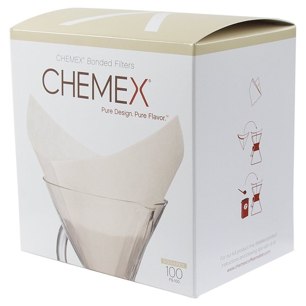 Chemex: Square Filters for 6, 8 or 10 Cup
