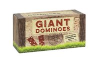 Traditional Wooden Giant Dominos Game image