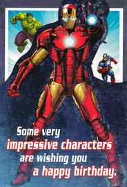 Marvel: Avengers Birthday Card