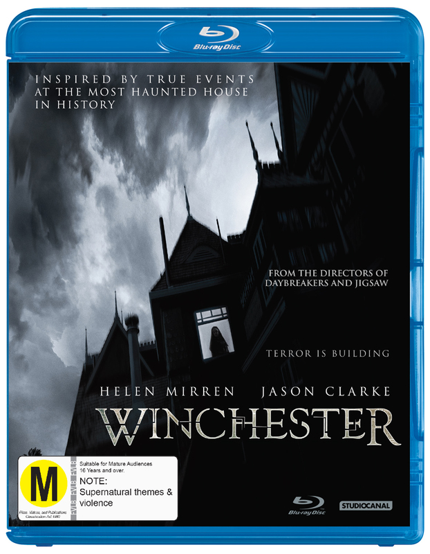 Winchester on Blu-ray