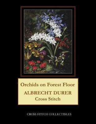 Orchids on Forest Floor by Kathleen George