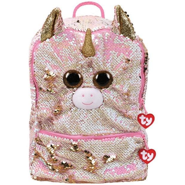 Ty Fashion: Sequin Backpack - Fantasia Unicorn
