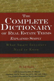 Complete Dictionary of Real Estate Terms Explained Simply by Jeff Haden image