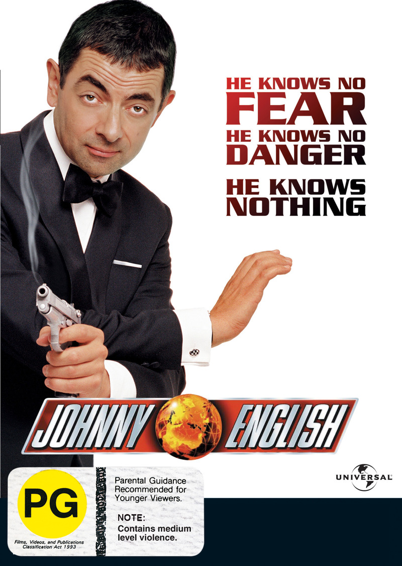 Johnny English on DVD image