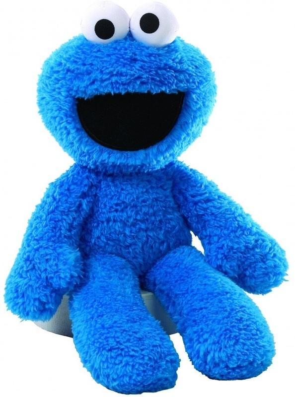Sesame Street - Take Along Buddy Cookie Monster