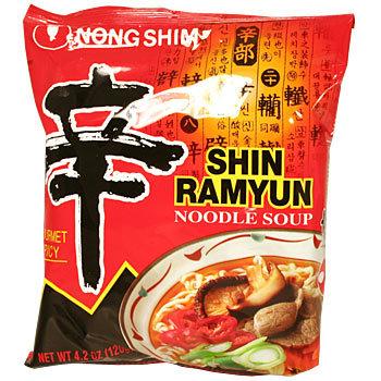 Nong Shim Shin Ramyun 120g (20 pack)