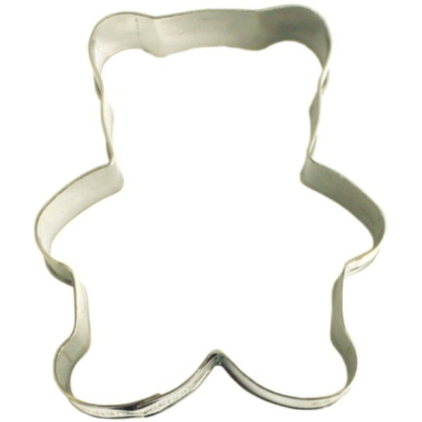 Stainless Steel Teddy Bear Cookie Cutter image