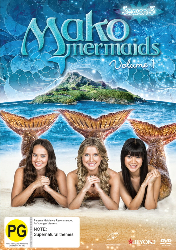 Mako Mermaids: Season 3 - Volume 1 on DVD