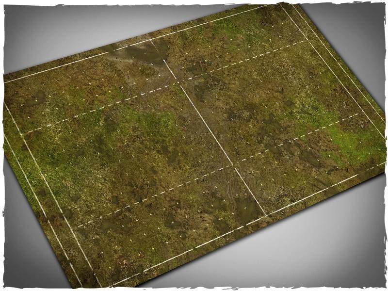 DeepCut Studio Fantasy Football Muddy Field Mat (PVC) image