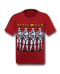Star Wars Force Awakens Pixel Order T-Shirt (Size 4)
