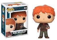 Harry Potter - Ron Weasley (with Scabbers) Pop! Vinyl Figure