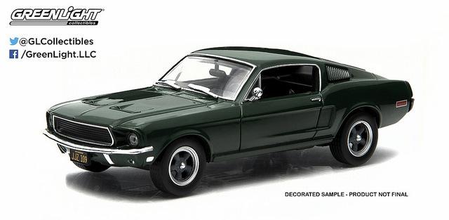 1/43: Ford Mustang - Steve McQueen Bullitt - Diecast Model image