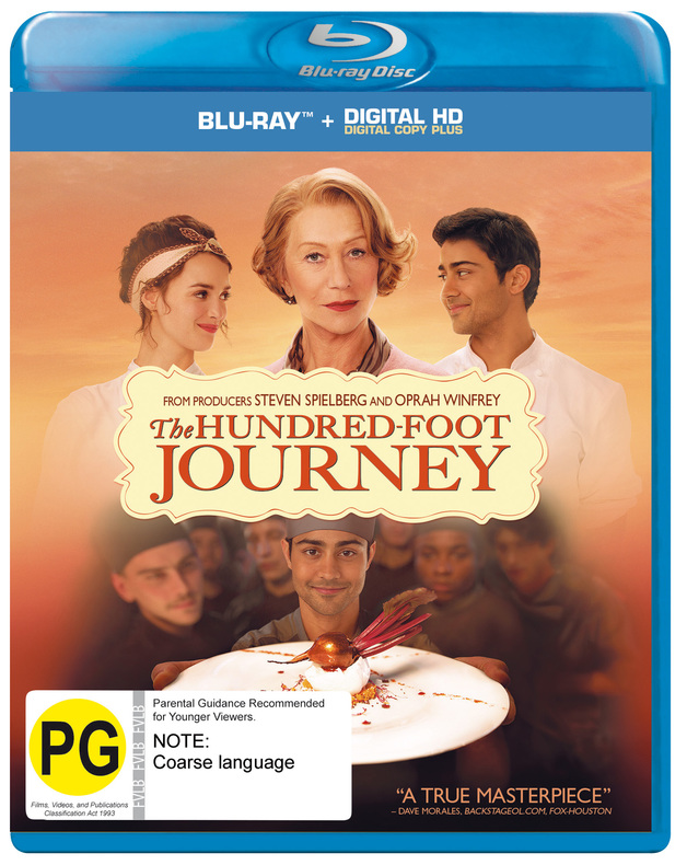 The Hundred-Foot Journey on Blu-ray
