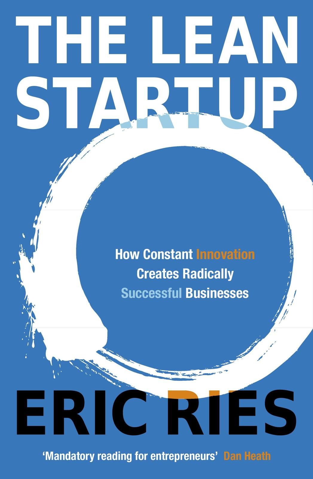 The Lean Startup by Eric Ries image