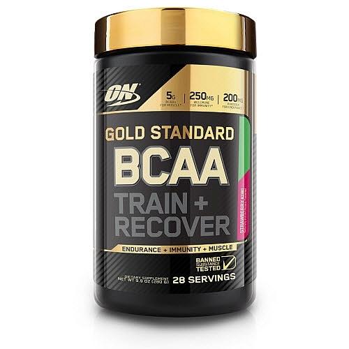Optimum Nutrition Gold Standard BCAA Train + Recover - Strawberry Kiwi (280g)