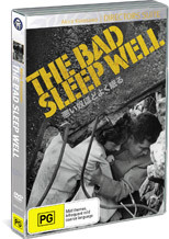 The Bad Sleep Well on DVD