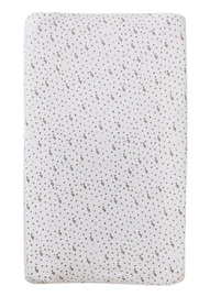 Little Baby Turtle: Bassinet Fitted Sheet - Turtles & Spots