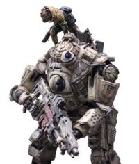 Titanfall: Atlas Titan - Play Arts Action Figure