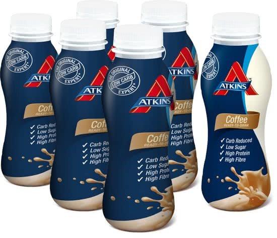 Atkins Advantage RTD Shake - Coffee (6 x 330ml)