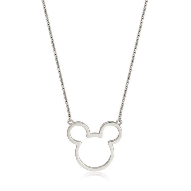 Couture Kingdom: Disney - Silver Mickey Outline Necklace