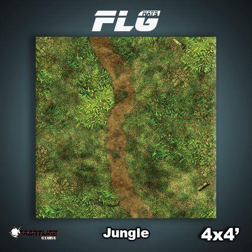 FLG Jungle Neoprene Gaming Mat (4x4)