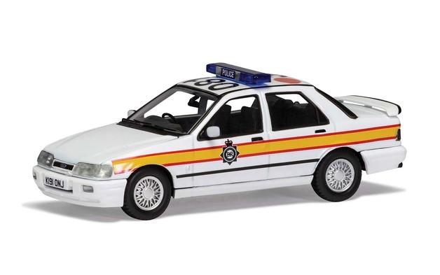 Corgi 1/43 Sierra Saphire RS: Police Diecast Model