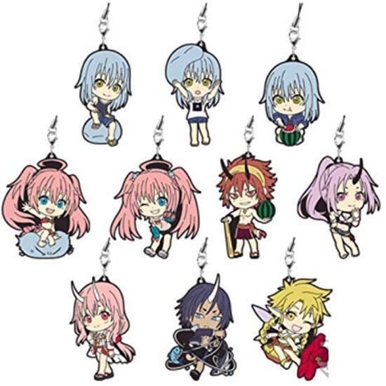 That Time I Got Reincarnated as a Slime: Rubber Charm- Assorted