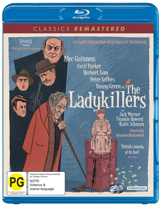 Classics Remastered: The Ladykillers (1955) on Blu-ray