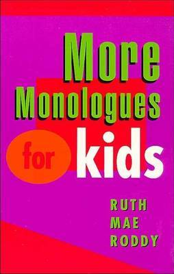 More Monologues for Kids image