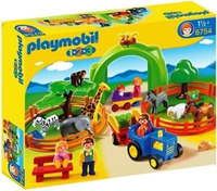 Playmobil 1.2.3. Large Zoo (Age 1.5+) image