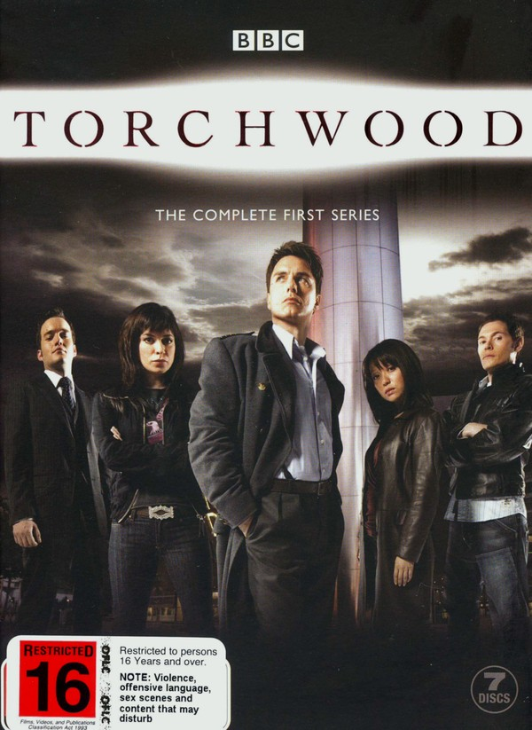 Torchwood - The Complete 1st Series (7 Disc Box Set) on DVD image