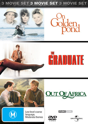 On Golden Pond/The Graduate/Out of Africa (3 Disc Set) on DVD image