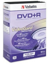 Verbatim DVD+RW 4.7GB 10Pk Jewel Case 8x