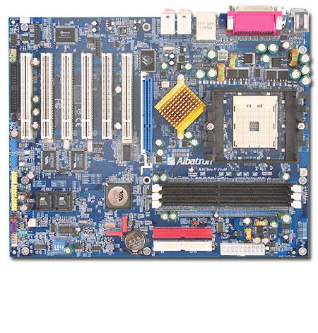 ALBATRON MOTHERBOARD K8ULTRA-V PROII ATHLON64 FIREWIRE+SATA+GBIT LAN+7.1SND