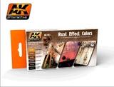 AK Rust Effect Paint Set