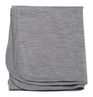 Babu Merino Bound Wrap - Grey Marl image
