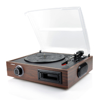 mBeat USB Turntable and Cassette to Digital Recorder 2-in-1