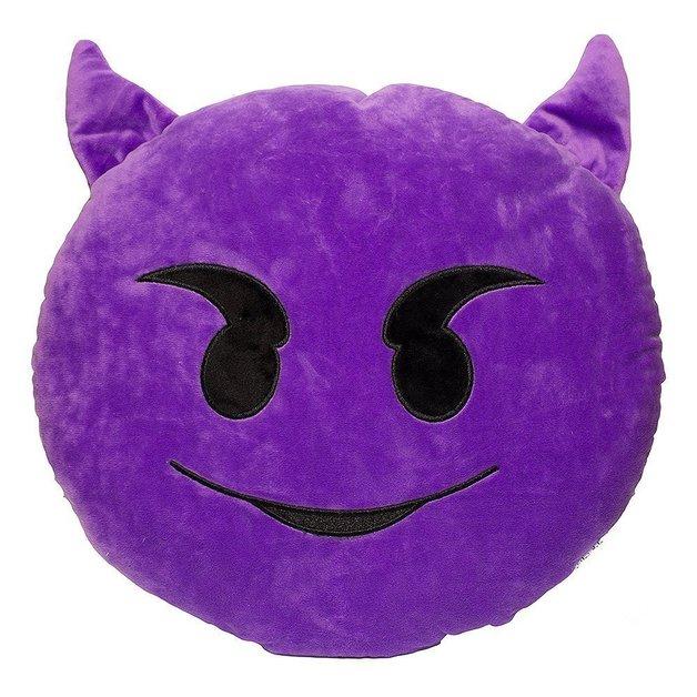 Smiling Devil Eye Cushion - 34cm