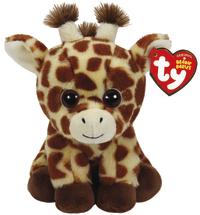 Ty Beanie Babies: Peaches Giraffe - Small Plush