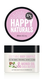 Happy Naturals Monoi Oil & Shea Butter Soothing Body Souffle (300ml)