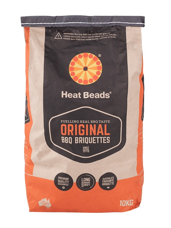 Heat Beads 10kg BBQ Charcoal Briquettes